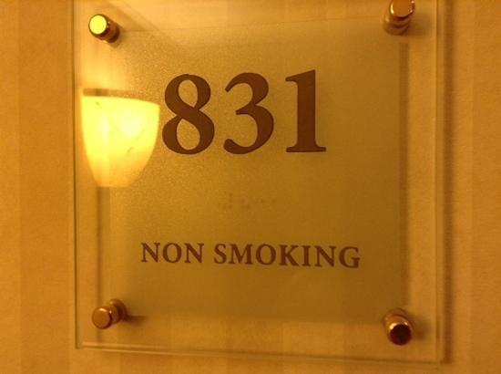 Amsterdam Marriott Hotel : room 831