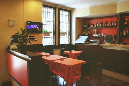 Hotel Delizia: Обеденная зона