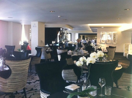 The stunning Grill Room at Hotel Colessio