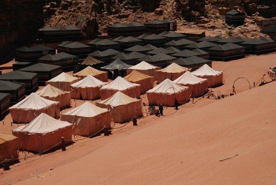 Rahayeb Desert Camp: campo tendato