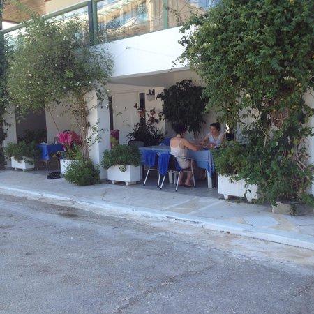 Athina Hotel: The ground floor verandas