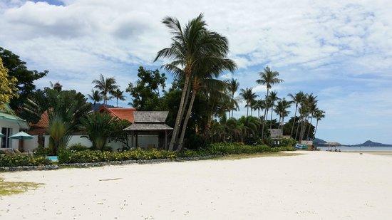 Shiva Samui: View from the beach.