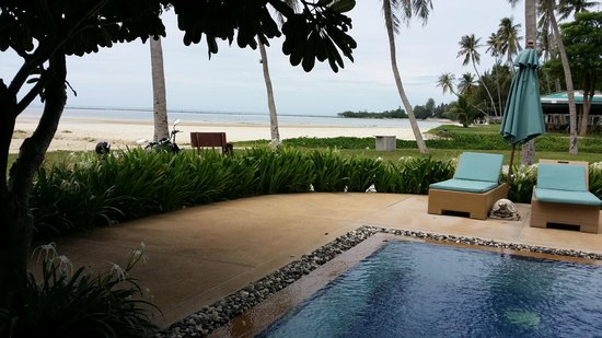 Shiva Samui: View from our beach front Ocean Room
