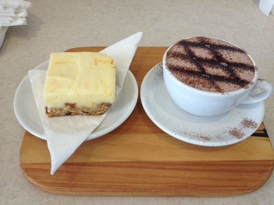 Coffee And Treats ~ Coffee and treats at cafe baraco picture of
