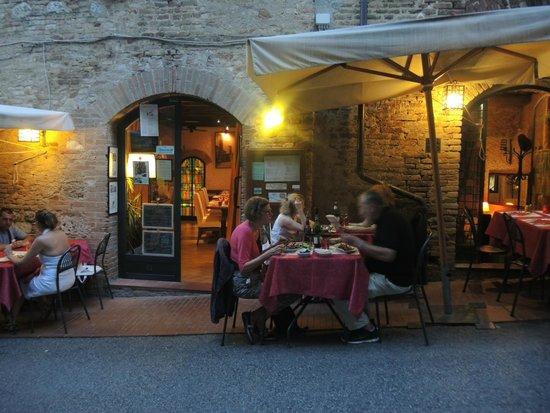 La Mangiatoia: Terrasse