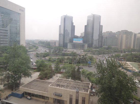 Swissotel Beijing Hong Kong Macau Center: 部屋からの眺め
