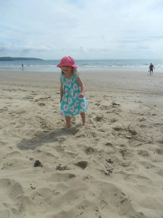 Kiln Park Holiday Centre - Haven: On the beach