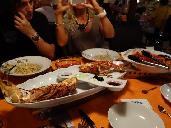 Hotel Amabilis: seafood