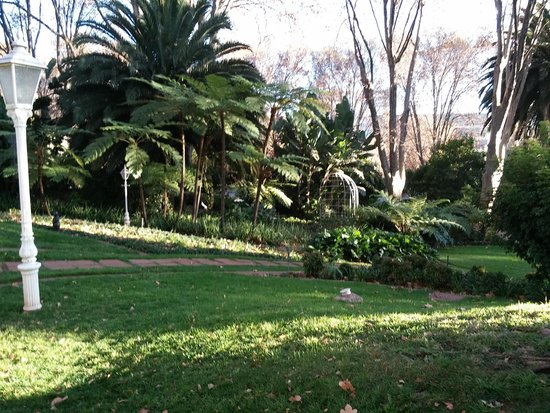 Rainbow Hotel Victoria Falls: 庭が手入れが行き届きとても綺麗です