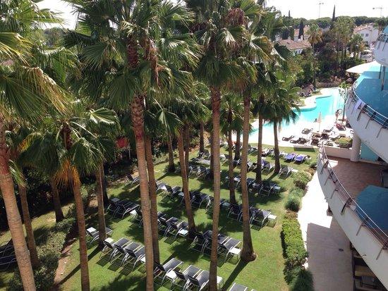 Senator Banus Spa Hotel: Vistas terraza - habitación