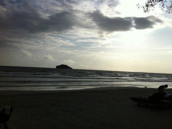 Tamu Hotel: La plage