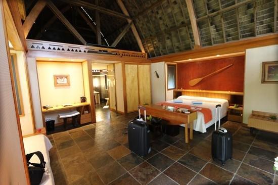Maitai Lapita Village Huahine : la chambre