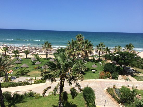 Riadh Palms Hotel: Our view from room