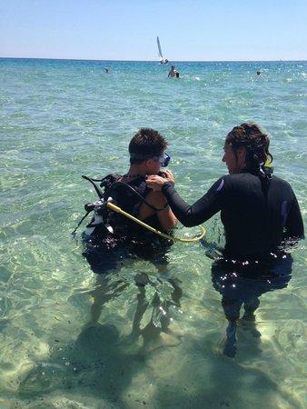 Eos Village: Prova di Diving per bambini