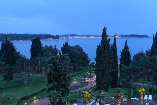 Hotel Laguna Materada: Вид из окна номера отеля