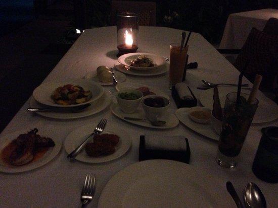 Alila Villas Uluwatu: Dinner at Cirè