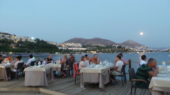 Yasmin Resort Bodrum: This is the view for the a la carte Restaurant called