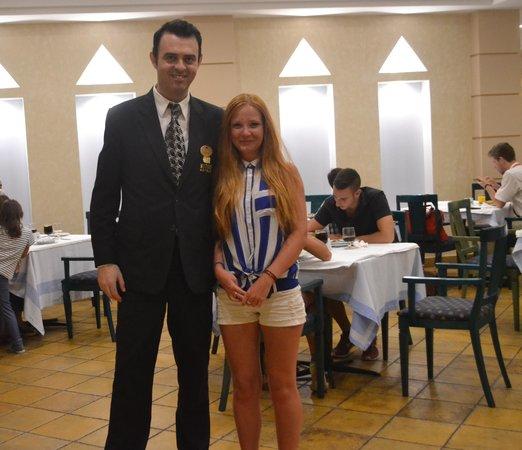 Mitsis Norida Beach Hotel: Наш друг!