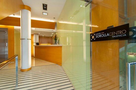 Hotel Sorolla Centro: Recepción