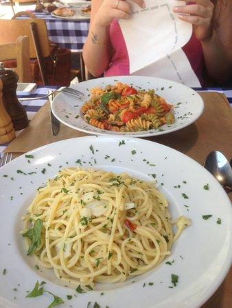 Da Mimmo : 2 pasta dishes