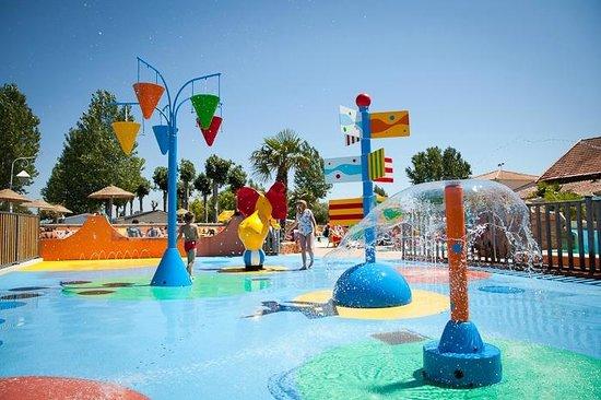 Camping Bel Air : Jardin d'eau