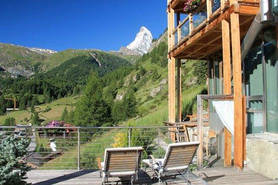 Coeur des Alpes : Chambre Loft avec Vue sur le Cervin