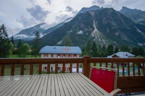 Madame Vacances Residence Les Jardins de la Vanoise : Vue du balcon