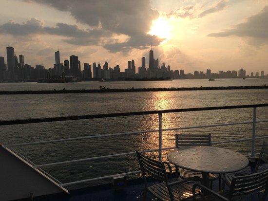 Spirit of Chicago: Auch bei Regen einmaliges Panorama