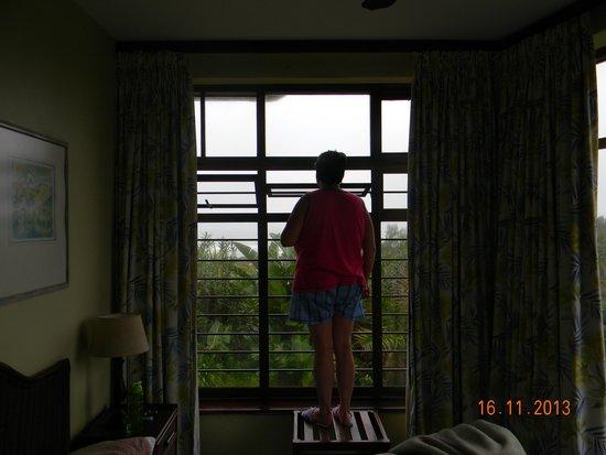 Cutty Sark Hotel: Small windows for fresh air