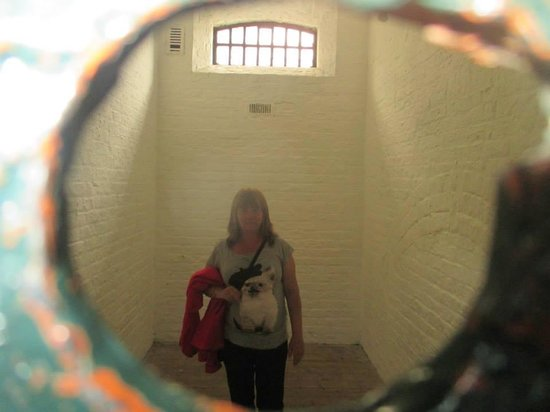 Kilmainham Gaol: in the cell