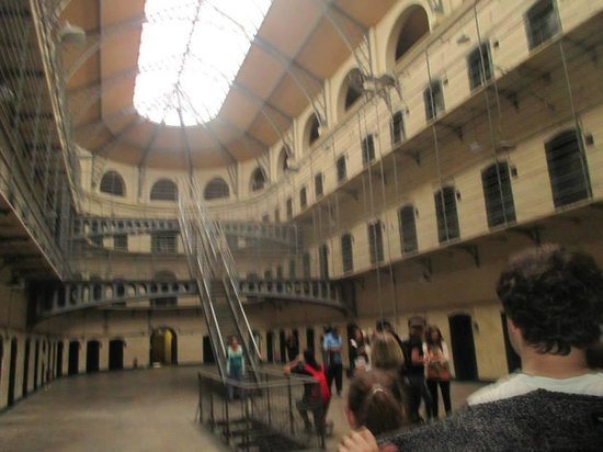 Kilmainham Gaol: inside the new part
