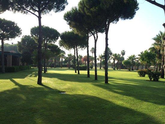 Gloria Golf Resort: территория отеля Gloria Golf