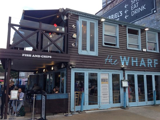 The Wharf: Looks good from the street