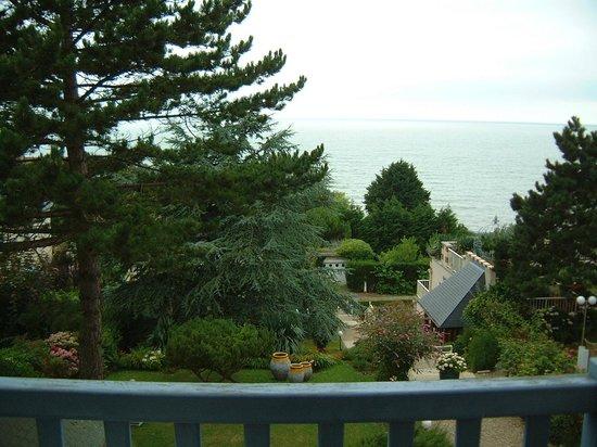 Hotel Restaurant Le Bellevue: Vue de notre terrasse