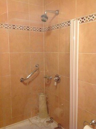 North Star Hotel : baño con ducha a presion