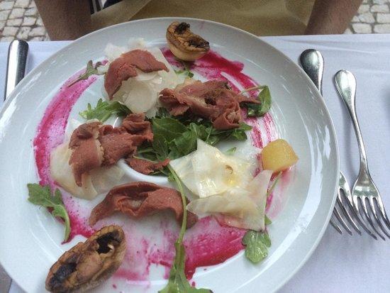 Clube de Jornalistas : Smoked duck salad