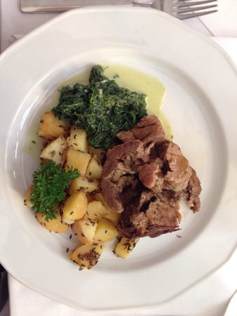 Cafe Bouchon: Very delicious veal neck