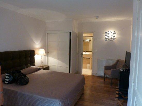 Le Grand Hotel: chambre