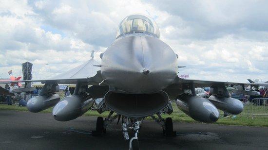 RAF Waddington Airshow: Huge