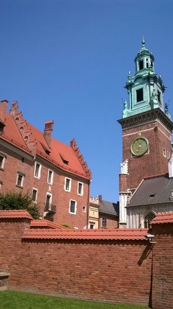 Wawel Royal Castle: curch clock