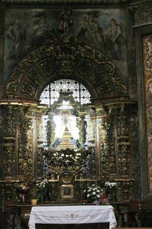Ermita de San Saturio : Altar del Santo