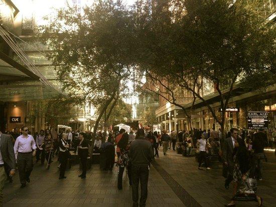 Westfield Sydney: Pitt Street Mall