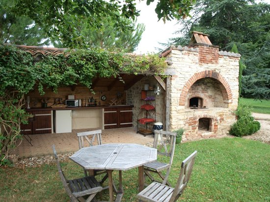 Domaine de Labarthe : La cuisine d'été