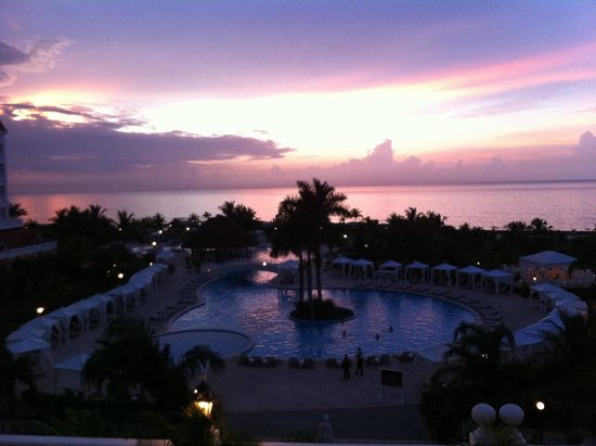 Grand Bahia Principe Jamaica: The view from our room.