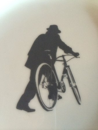 The Bicycle Thief: Fun logo.