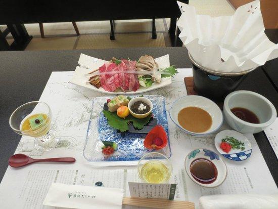 Ryokan Tanigawa: 夕食前菜