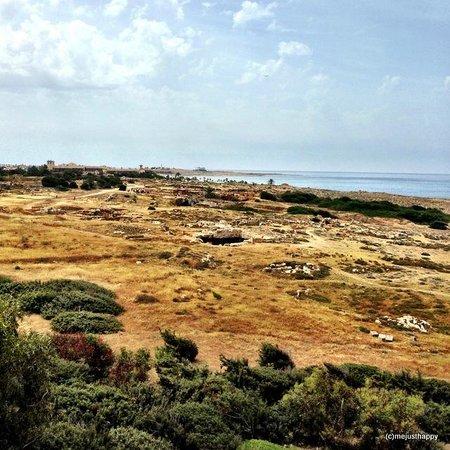 Venus Beach Hotel: Вид с балкона на царские гробницы