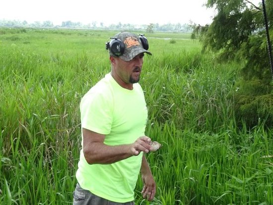 Airboat Tours: THe guide, Jeremy