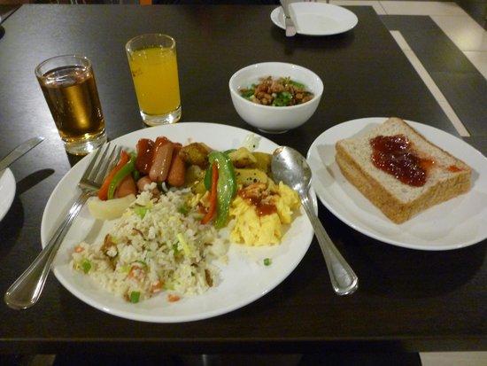 Citrus Hotel Johor Bahru: breakfast