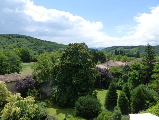 L'Abbaye Chateau De Camon: Room with a view
